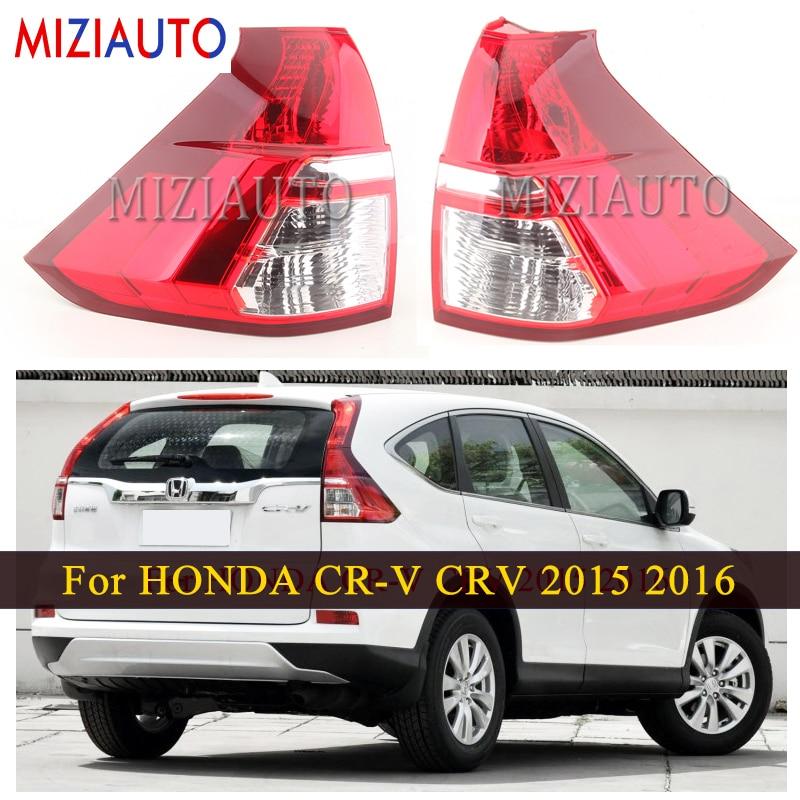 MIZIAUTO LED Tail Light Lamps For HONDA CR-V CRV 2015 2016 Parking Reverse Day Light Rear Brake Stop Warning Lamp Car Parts
