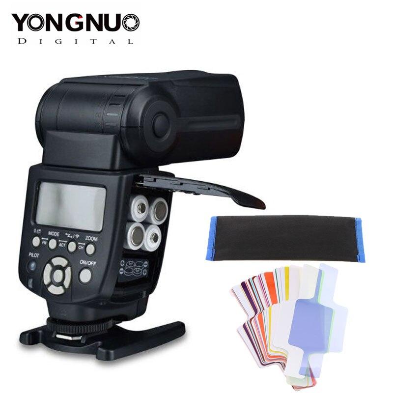 YONGNUO Speedlite YN 560 III IV Flash para Canon Nikon Olympus Pentax DSLR Cámara Flash Speedlite inalámbrico maestro Flash Speedlite