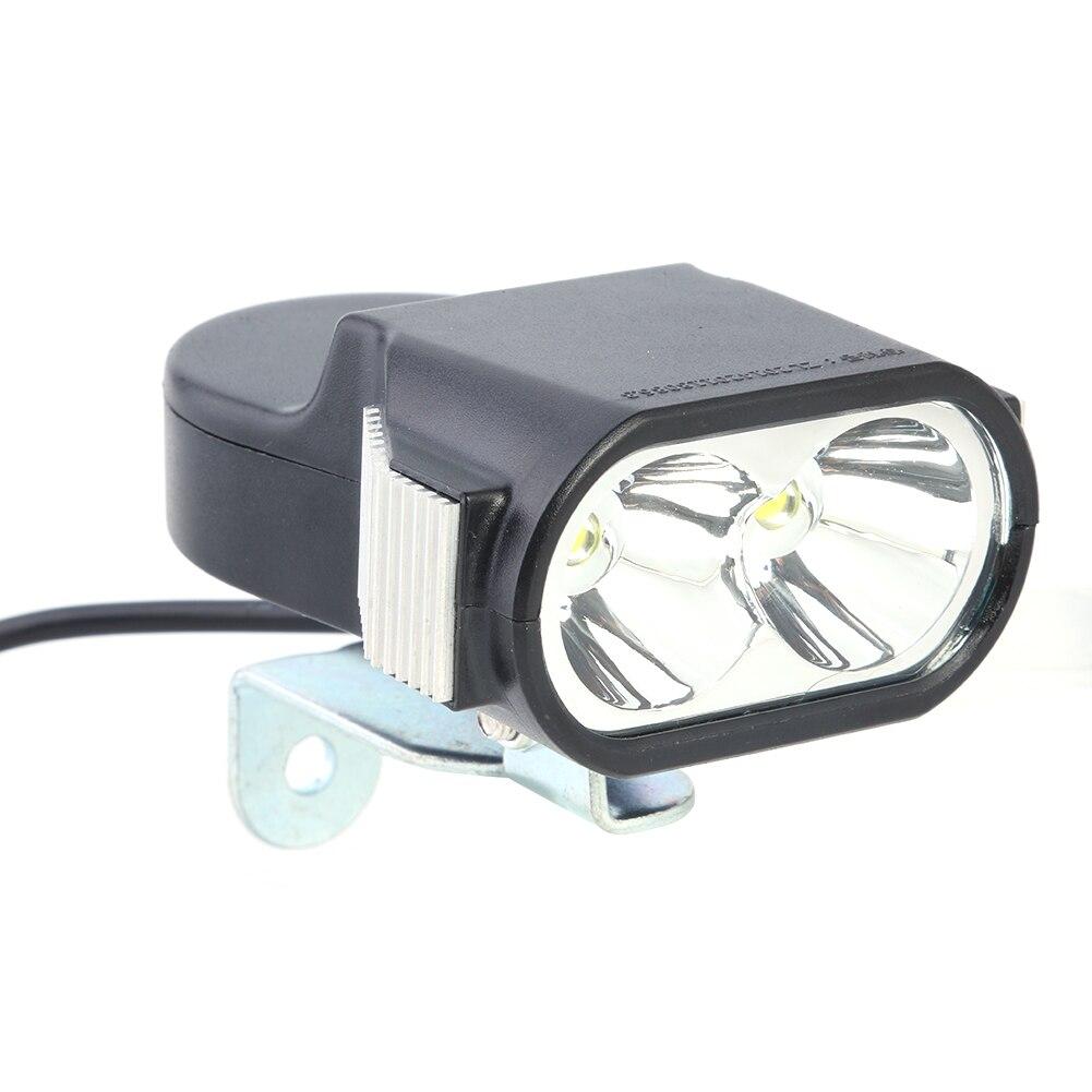 LED światło przednie latarka reflektor Horn akcesoria 36V 48V 60V e-bike rower Outdoor Cycle kolarstwo rozrywka