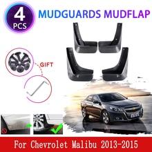 Pour Chevrolet Malibu 8 8th 2013 2014 2015 4x garde-boue garde-boue garde-boue garde-boue protection accessoires de roue de voiture