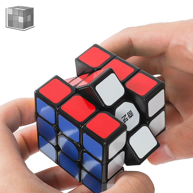 Профессиональный скоростной куб высокого качества 3x3x3 Волшебные кубики 5,6 см вращающиеся кубики Magicos домашние игры для детей и взрослых