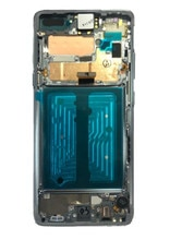 "6,7 ""AMOLED pantalla LCD S10 5G LCD para SAMSUNG Galaxy S10 G977B G977U G977N digitalizador de pantalla táctil de la Asamblea S10 5G versión"