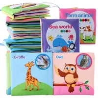 cloth baby book intelligence development educational toy soft cloth learning cognize books for 0 12 months kids quiet book