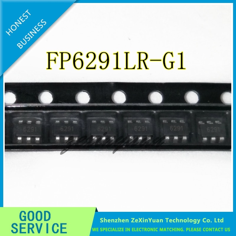 20PCS FP6291LR-G1 FP6291 6291 SOT23-6 IC