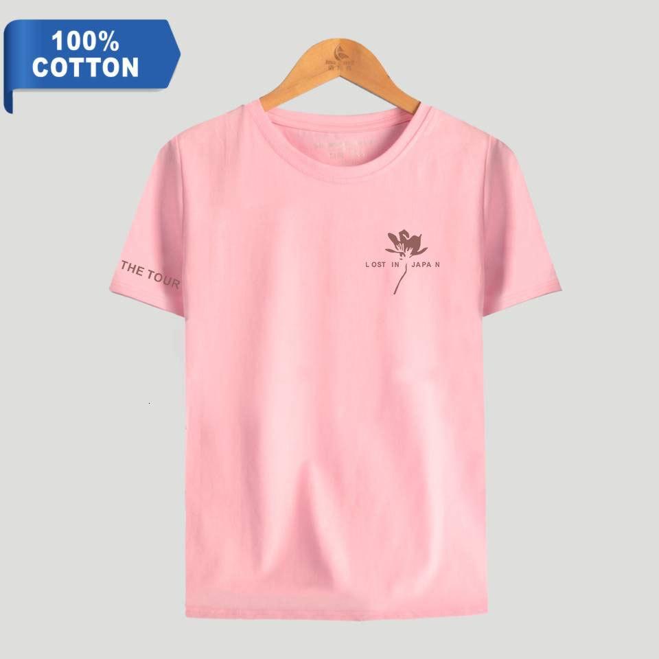 Ropa de algodón de 100% de la gente de sean Mendes cómoda fresca de manga corta al azar camiseta de la Base de los hombres Tee miembro del verano