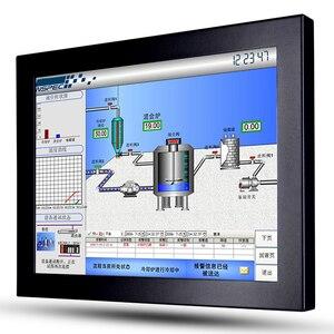 Монитор для наружного мониторинга без сенсорного экрана 10, 12, 14, 15, 17 дюймов, 450 нит, ЖК-монитор TFT с открытой рамкой