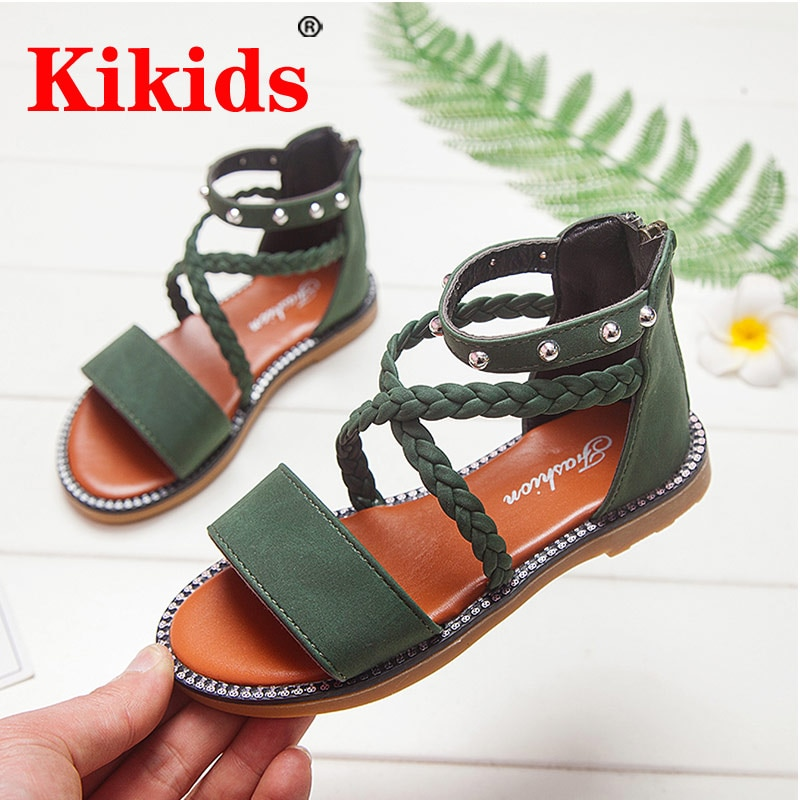 AliExpress - Kid Shoes Leather Girls Shoes kids Summer Baby Girls Sandals Shoes Skidproof Toddlers Infant Children Kids Shoes Beige Summer Sa