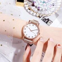 Luxury Watches For Women Stainless Steel Dress Quartz Watch Female Clock Relogio Feminino Elegant La