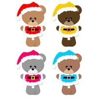 new christmas bear puzzle wooden die scrapbooking n9 cutting dies multiple sizes compatible with most die cutting machines