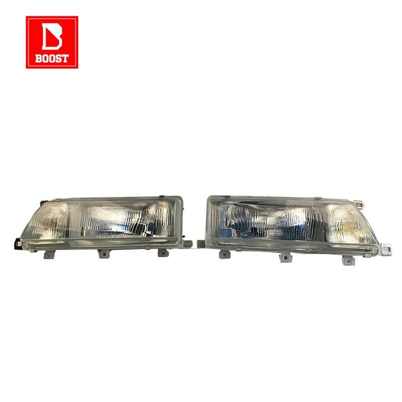 BOOST A Pair Headlight For Toyota Carib Sprinter AE95 AE114 1988 1989 1990 1991  1994 1998 1999 New Vehicle Headlight
