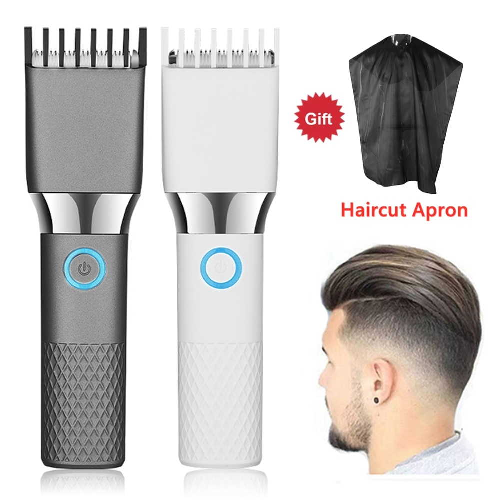 Professional Electric Hair Clippers Trimmer For Men Adults Kids Cordless USB Rechargeable Hair Cutting Machine Mower Cutter
