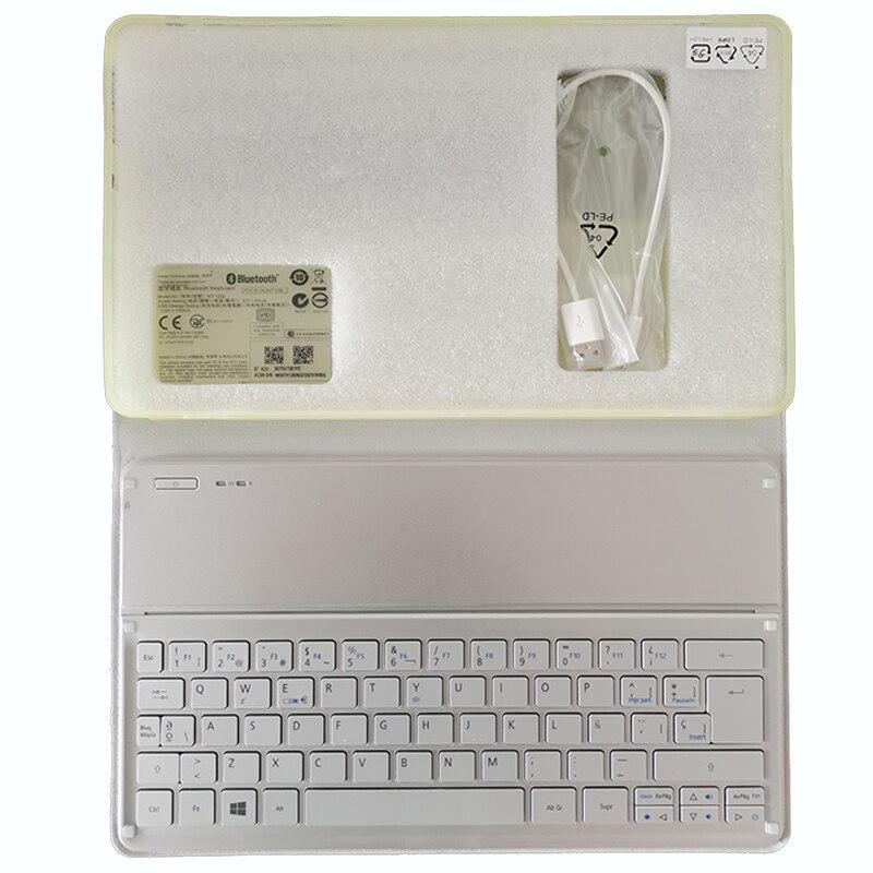لوحة المفاتيح الأسبانية الجديدة ل أيسر W700 W701 P3-171 P3-131 KT-1252 لوحة المفاتيح الفضة SP تخطيط واي فاي بلوتوث لوحة المفاتيح
