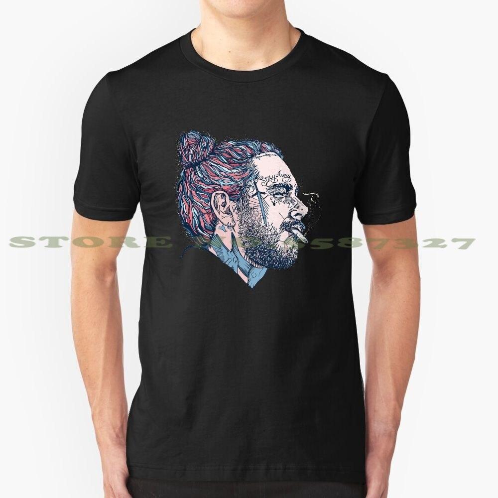 -Siempre cansado Merch diseño de moda camiseta Malone logotipo Rap música Hip Hop
