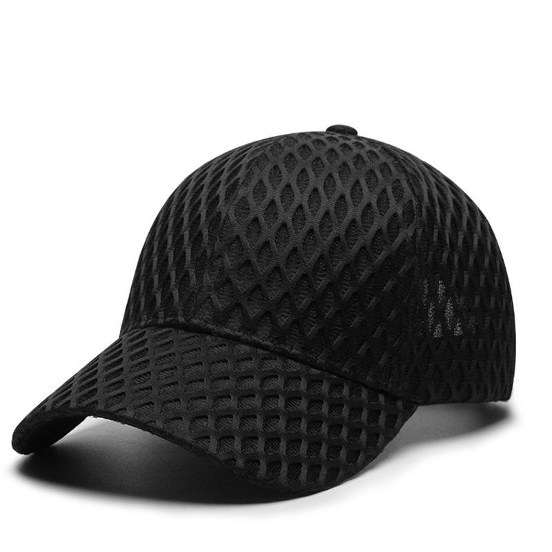 Бейсболка с большими костяшками для мужчин и женщин, стильные кепки от солнца, с прорезями, большие размеры M 56-60 см L 60-62 см