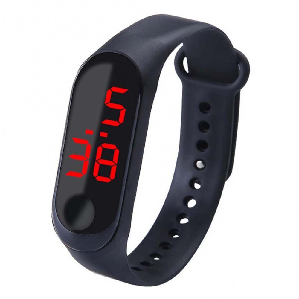 BLUELANS  Button type led children's student sports Adjustable Strap  Electronic Digital Watch New G