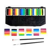 12 color pressed water based face painter paints childrens face paint water based easy to clean high saturation