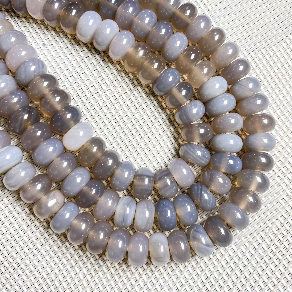 Natural Stone Crystal Agates Beaded Rose Quartzs Abacus Scattered Beads for Jewelry Making Necklace DIY Bracelet Accessories  - buy with discount