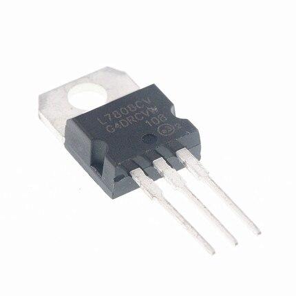 10 pi??ces L7808CV TO220 L7808 TO-220 7808 LM7808 MC7808 tube r??gulateur de tension stabilivolt nouvel