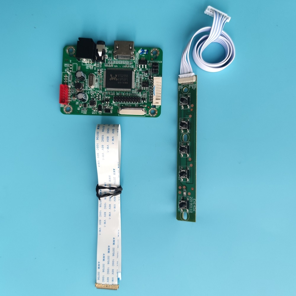 عدة ل NT156WHM EDP HD لوحة LED LCD لوحة تحكم صغيرة 1366x768 كابل شاشة 15.6
