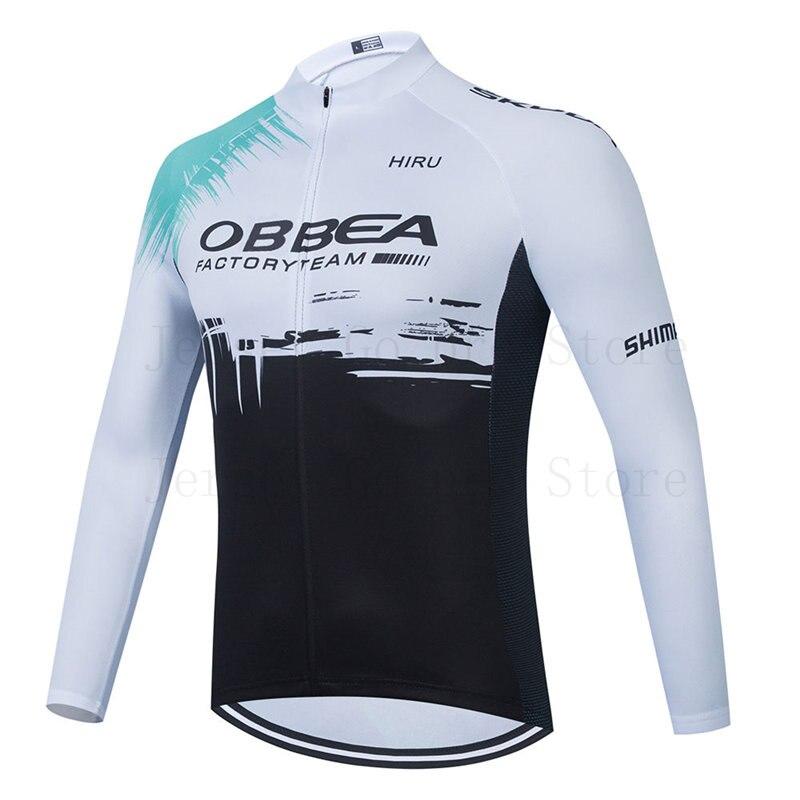 Conjunto de Jersey de Ciclismo de manga larga para hombre, Ropa de...