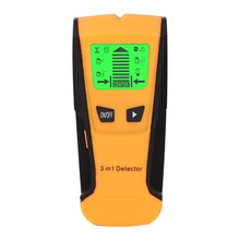 3 in 1 금속 탐지기 금속 라이브 와이어 및 스터드 탐지기 프로브 벽 스캐너와 나무 줄기 센터 탐지기 전기 상자 감지기