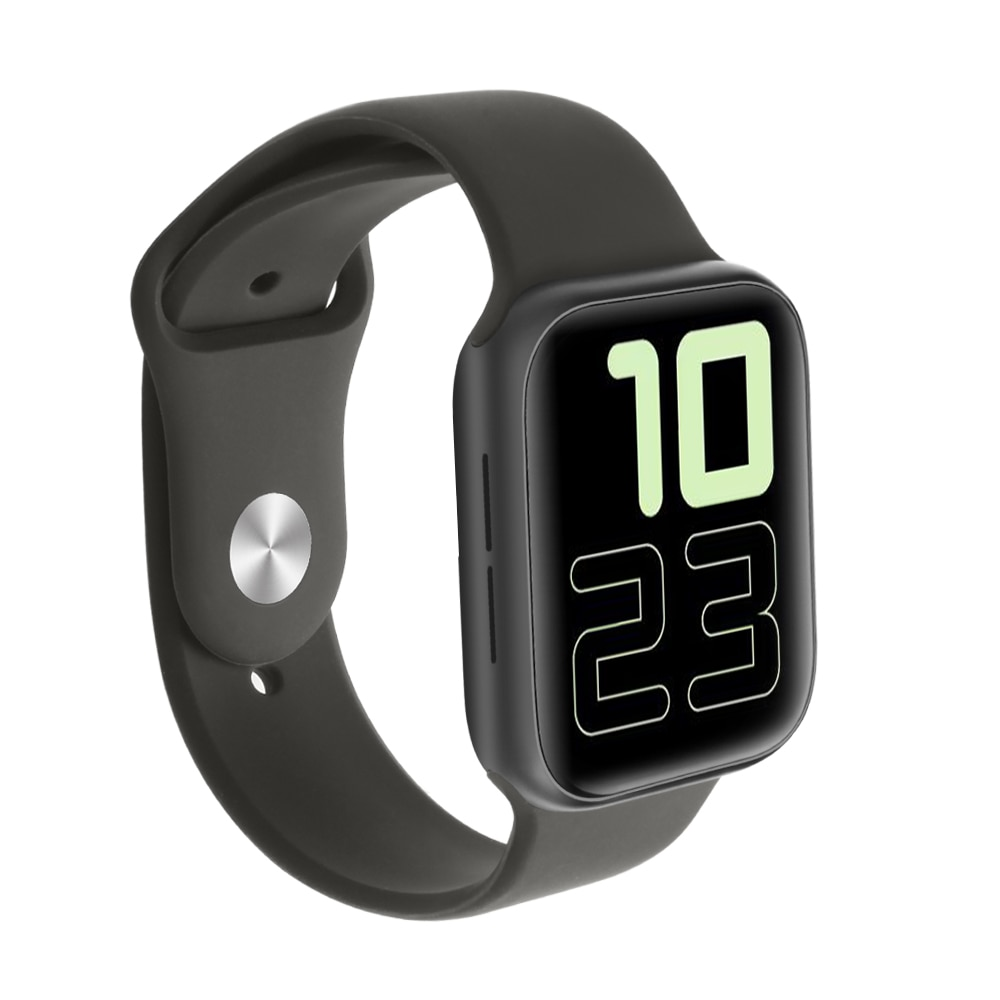 KIWITIME IWO 11 PLUS GPS Bluetooth Смарт-часы 11 Смарт-часы 44 мм чехол для Apple iOS Android кровяное давление кислородный Спорт