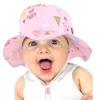 childrens hat spring summer new sun hat mens and womens breathable basin hat beach travel hat sun hat