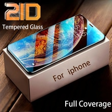 Tempered Glass For iPhone 12 11 Pro Max Screen Protector 6 6S 7 8 X Xs Xr SE Plus Mini 2020 S 5G 21D