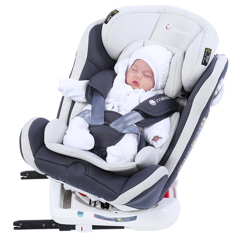 Innokids Child Car Safety Seat Baby Booster Seat Adjustable Sitting Lying Five Point Safety Newborn Car Seat
