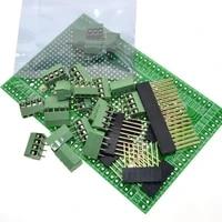 double side pcb prototype screw terminal block kit r3 board for mega 2560 mega2560 mega r3 2560 q9i2