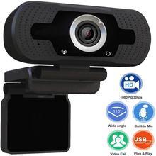 HD Webcam 1080P Mit Mic Clip-auf PC Laptop Desktop USB Webcams Pro Streaming Computer Kamera Für Windows XP Win7 8 10 Keine Fahrer