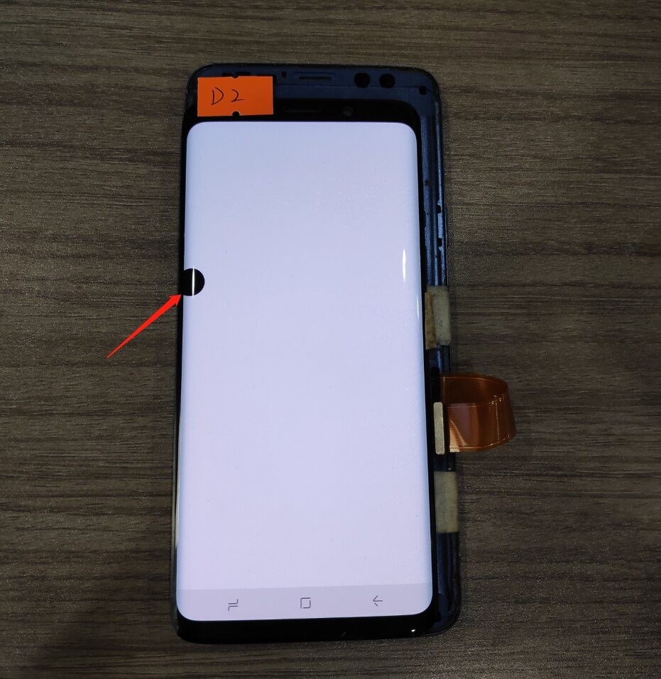 For Samsung Galaxy S9 G960 G960f Defect Lcd Display Touch Screen Digitizer Original  5.8'' Original Super AMOLED Screen enlarge