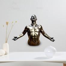 Resin Figure Pendant Craft gifts New creative bar Art Pendant artwork
