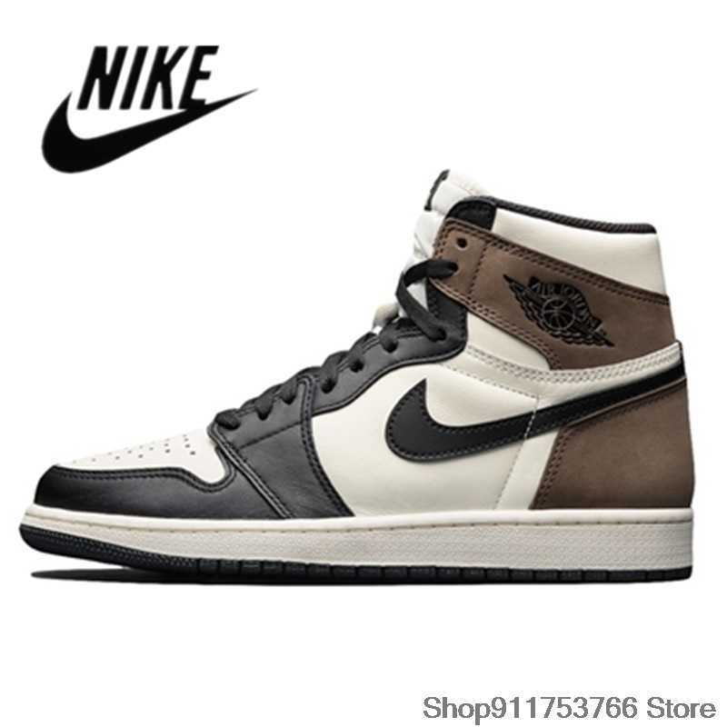 Nike-Zapatillas deportivos Air Jordan Retro 1 AJ1 para hombre y mujer y...