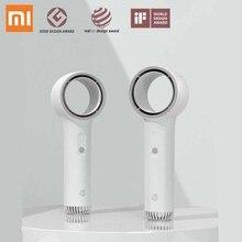 Xiaomi Weiyuan ventilador de mano sin aspas seguridad fuerte viento bajo ruido hermoso portátil de viaje ventiladores Mini ventiladores de aire