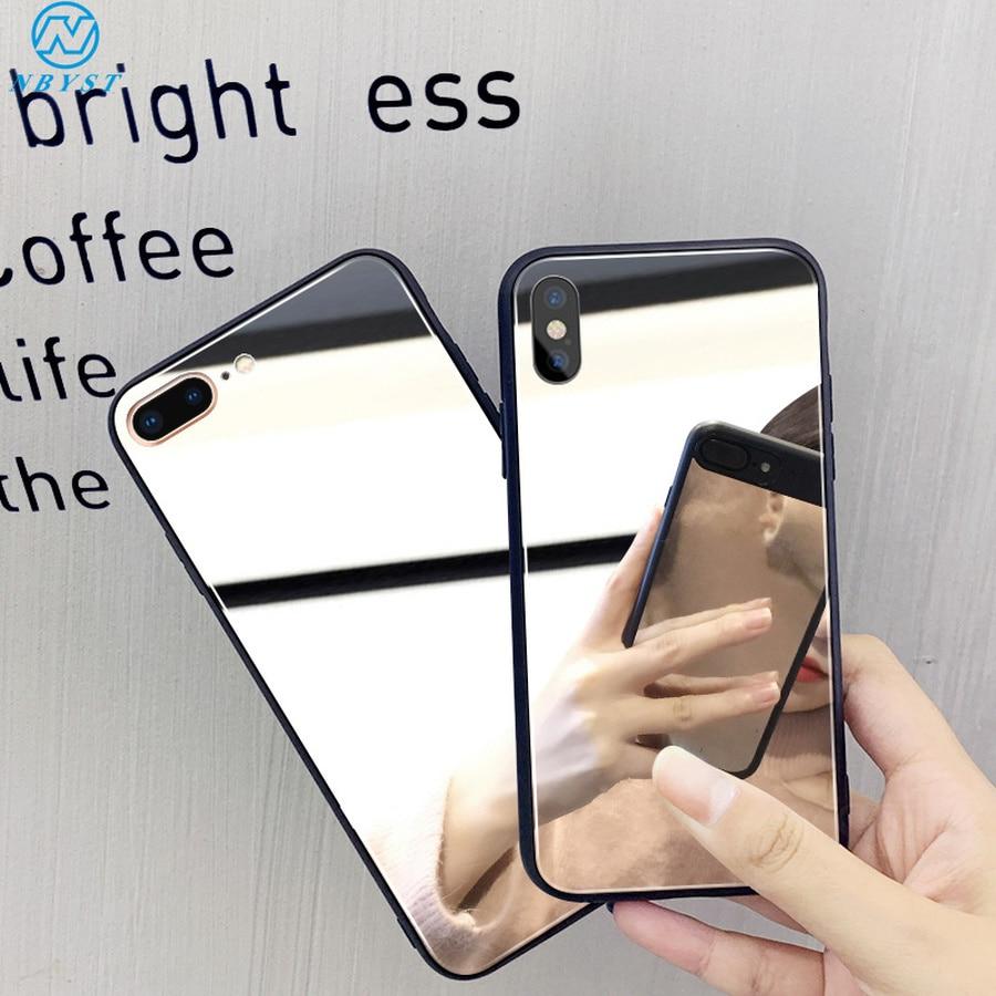 Mirror Makeup Case for Redmi 8 8A 6A 7A K20 5A 4A 4X Note 8 7 6 5 Pro Plating Cover For Xiaomi Mi 9T Pro Mi 9 8 A2 Lite 5X 6X F1