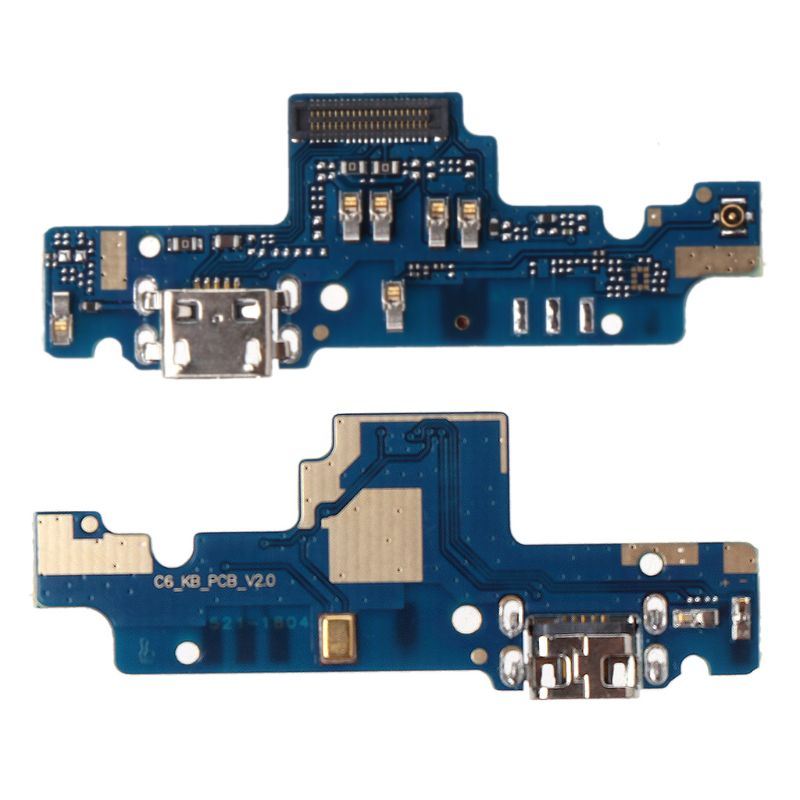 Cable flexible Puerto USB cargador conector de enchufe conector de puerto de carga Placa de Cable de cola reemplazo para Xiaomi Redmi Note 4X