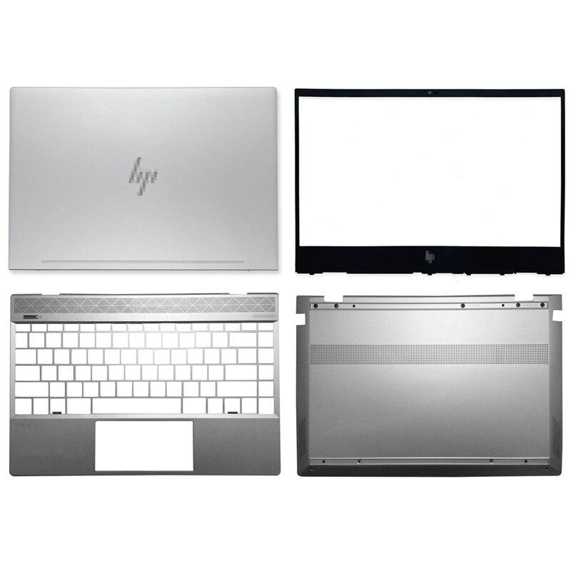 جديد الأصلي ل HP ENVY X360 13-AH TPN-W136 محمول LCD الغطاء الخلفي/الإطار الأمامي/Palmrest/غطاء سفلي الغطاء العلوي L24145-001 المعادن