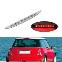 8LED عالية جبل Led الذيل الخلفي ضوء الفرامل الثالثة ضوء الفرامل وقف اللون الأحمر مصابيح لسيارة BMW Mini R50 R53 2002-2006