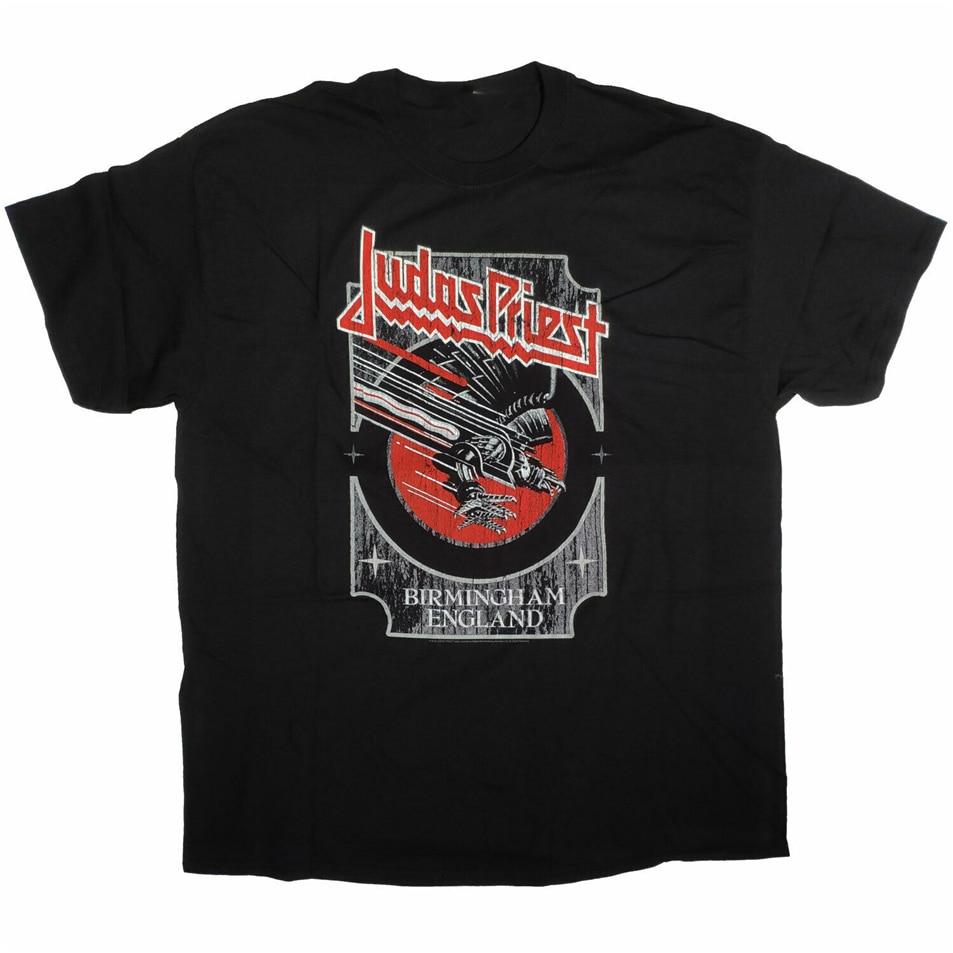 Judas sacerdote T-Shirt gritando por venganza Birmingham caja 100% camiseta femenina masculina camisa
