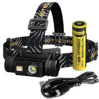 SALE NITECORE HC65 Headlamp CREE XM-L2 U2 1000Lumes Rechargeable Headlight Waterproof Camping Travel 18650 Battery Free Shipping