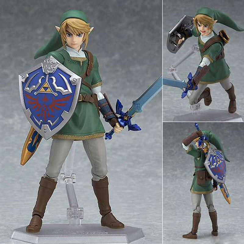 Фигурка Figma 319 320 Zelda Skyward Sword Link Twilight Princess модель игрушки кукла подарок
