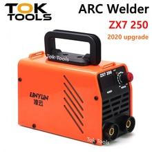 ARC Welder ZX7 250 250A Mini Electric Welding Machine Portable Digital Display MMA ARC DC Inverter Plastic Welder Weld Equipment