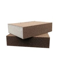 12510pcs grit 60 600 wetdry sanding sponge foam block sandpaper polishing pad