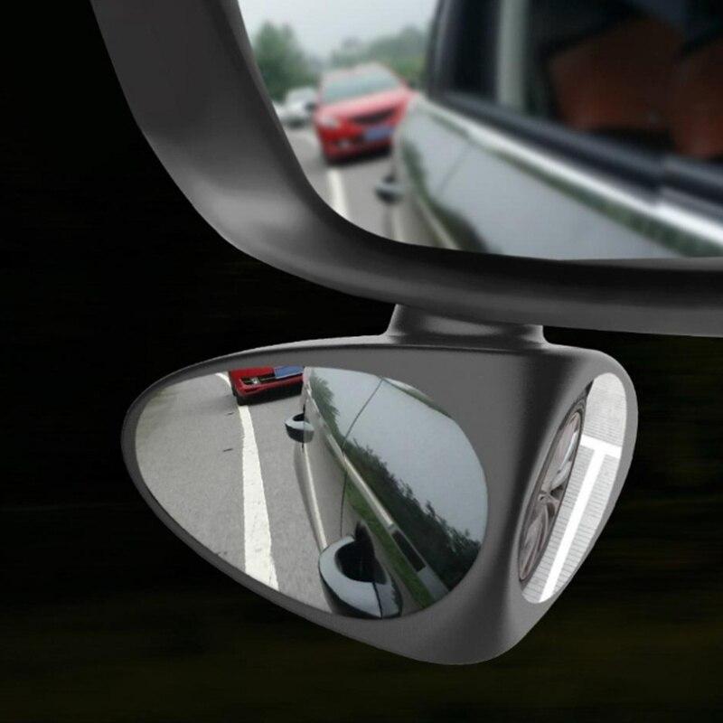 Espejo de Punto ciego para coche, espejo convexo de 360 grados, accesorios de coche para Fiat Panda Bravo Punto Linea Croma 500 595