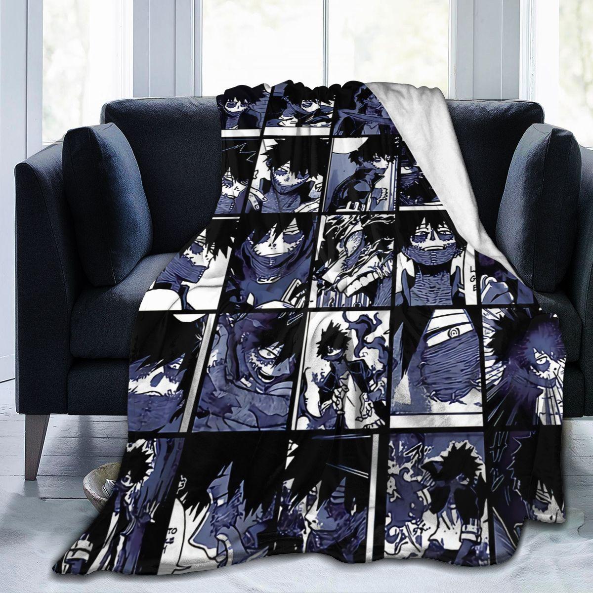 بطلي الأكاديمية كلية أنيمي Kirishima رمي بطانية غامض الدافئة يلقي لفصل الشتاء الفراش ثلاثية الأبعاد الطباعة لينة الصوف الصغير