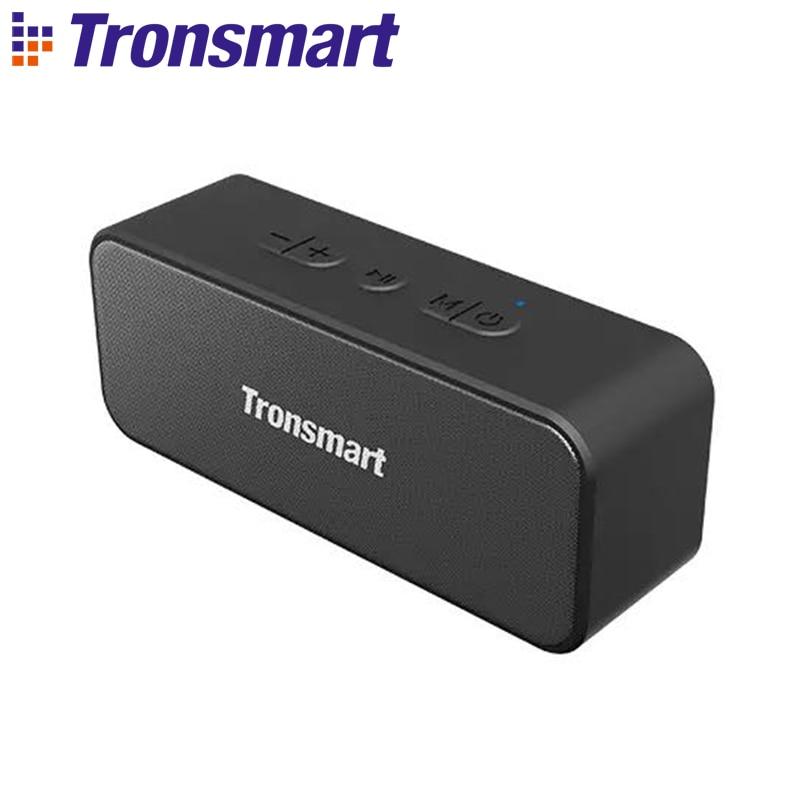 Tronsmart T2 Plus Altavoz Bluetooth 5,0 20W 3600mAh altavoz portátil 24H columna IPX7 barra de sonido TWS, asistente de voz doble sonido