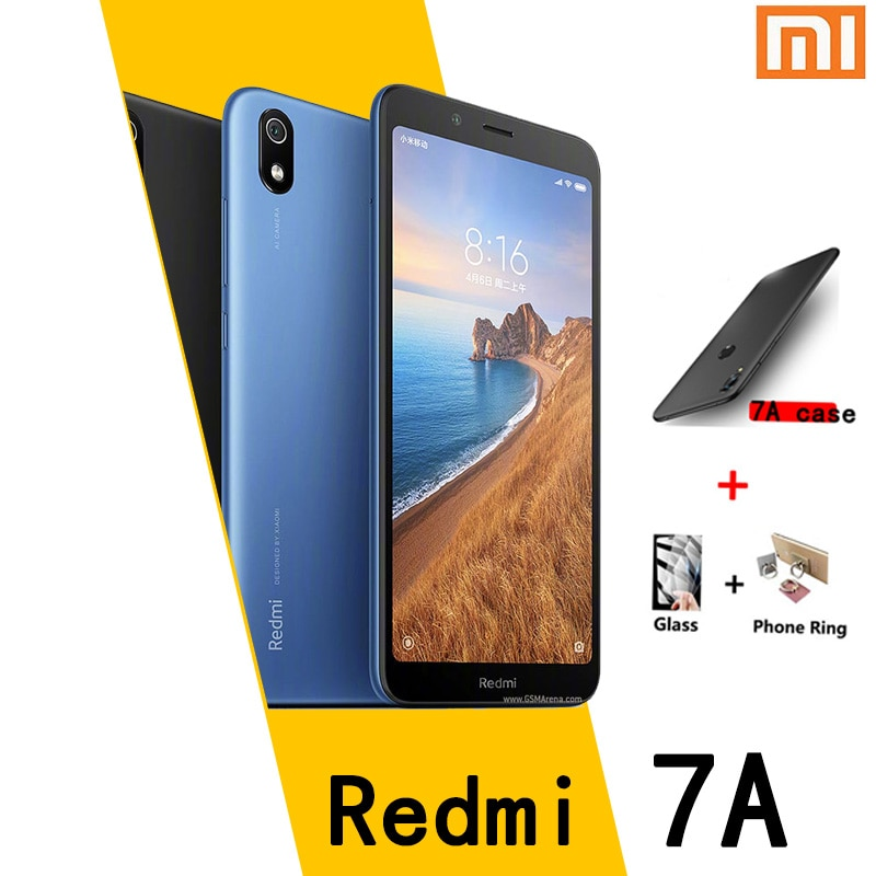 Перейти на Алиэкспресс и купить Смартфон Xiaomi Redmi 7A global frame с Google market 3 ГБ 32 ГБ 4000 мАч Snapdragon 439