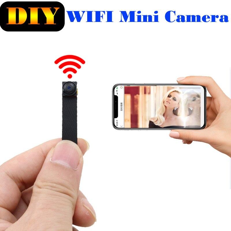 JOZUZE – Mini caméra de Surveillance réseau sans fil 1080P, Micro camescope IP P2P, enregistreur Audio et vidéo