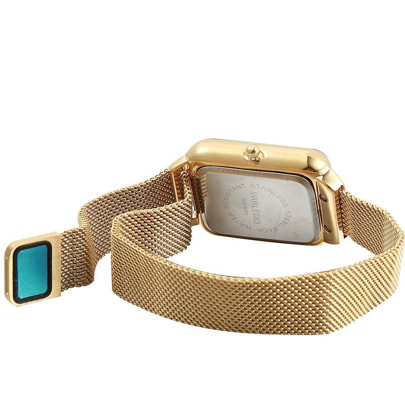 varledo Student girl quartz watch women fashion trend magnetic absorption strap enlarge